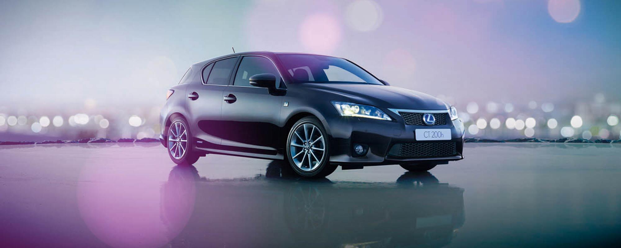 Lexus CT 200h ook in 2014 met slechts 14% bijtelling