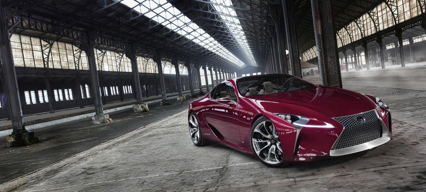 Lexus' oogappel LF-LC debuteert in Genève