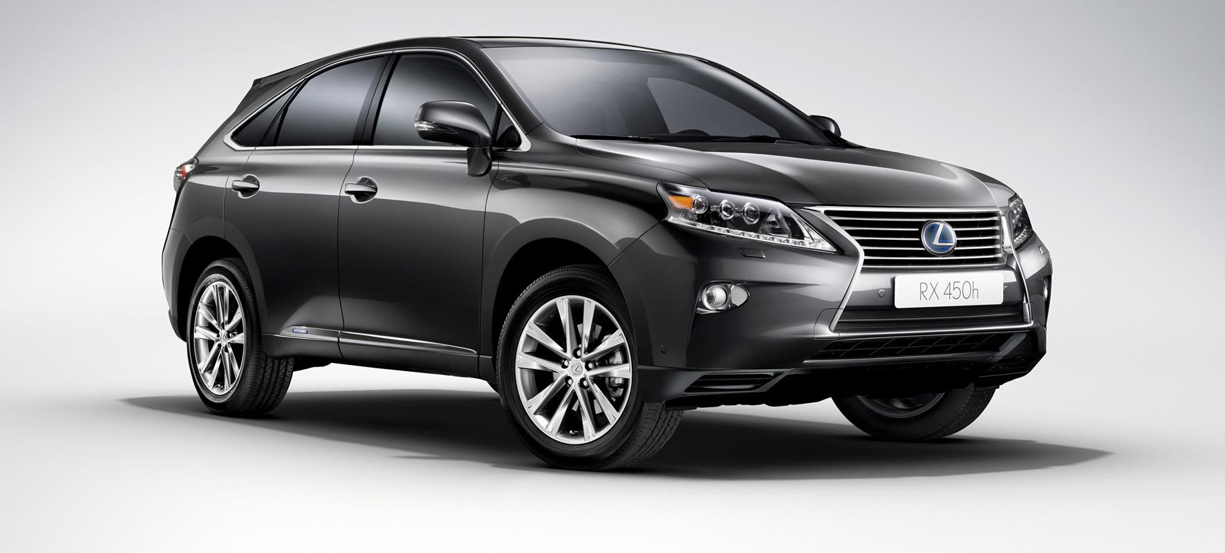 Lexus introduceert vernieuwde RX 450h Hybrid
