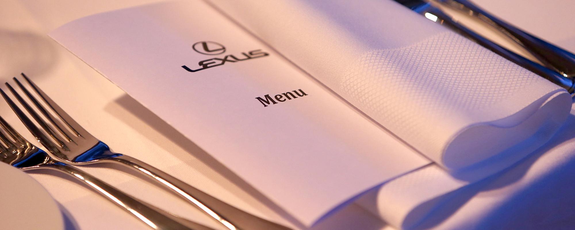 Toprestaurants van JRE en Lexus sluiten alliantie