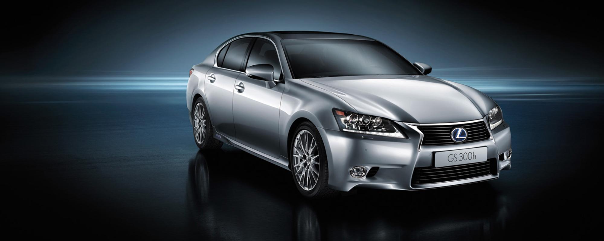 Lexus onthult GS 300h HYBRID: 20% bijtelling