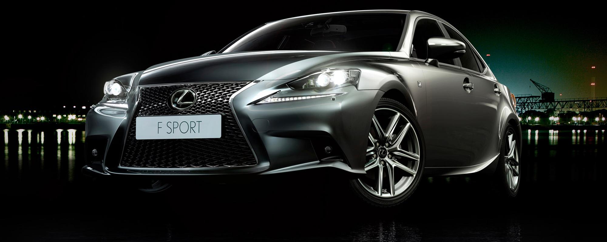 Lexus IS 300h HYBRID: de zes beste business deals