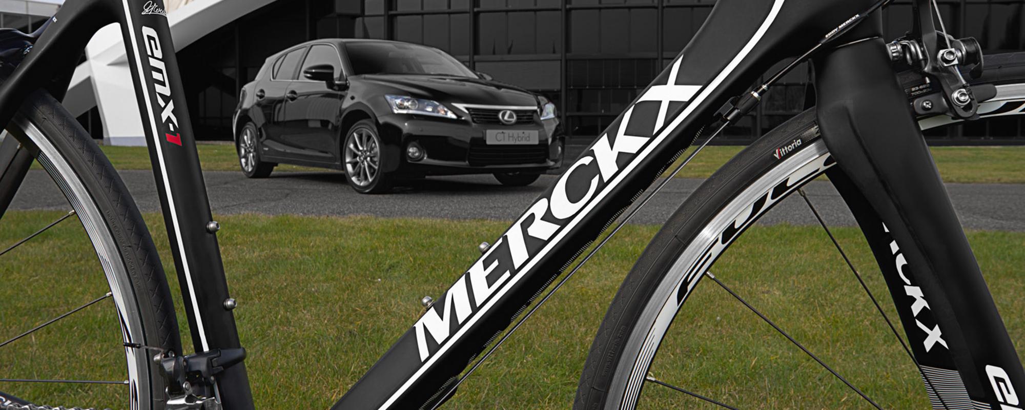 Eddy Merckx en Lexus breiden samenwerking uit