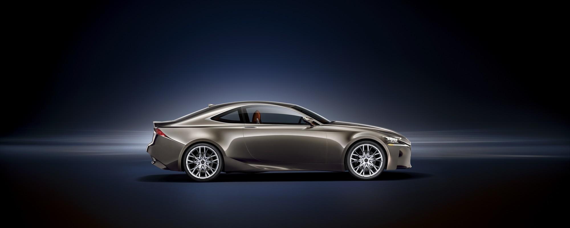 Lexus LF-CC Concept wereldprimeur Autosalon van Parijs