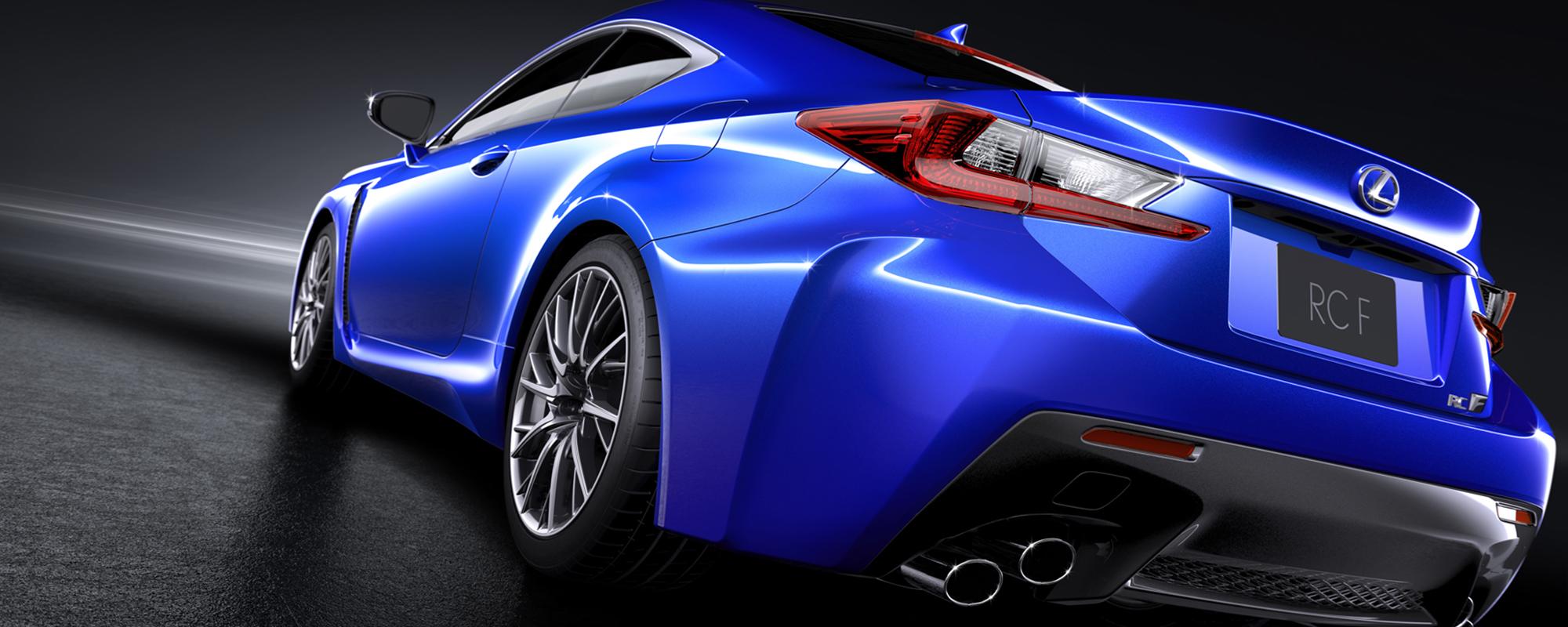 Lexus RC F: met een vleugje LFA