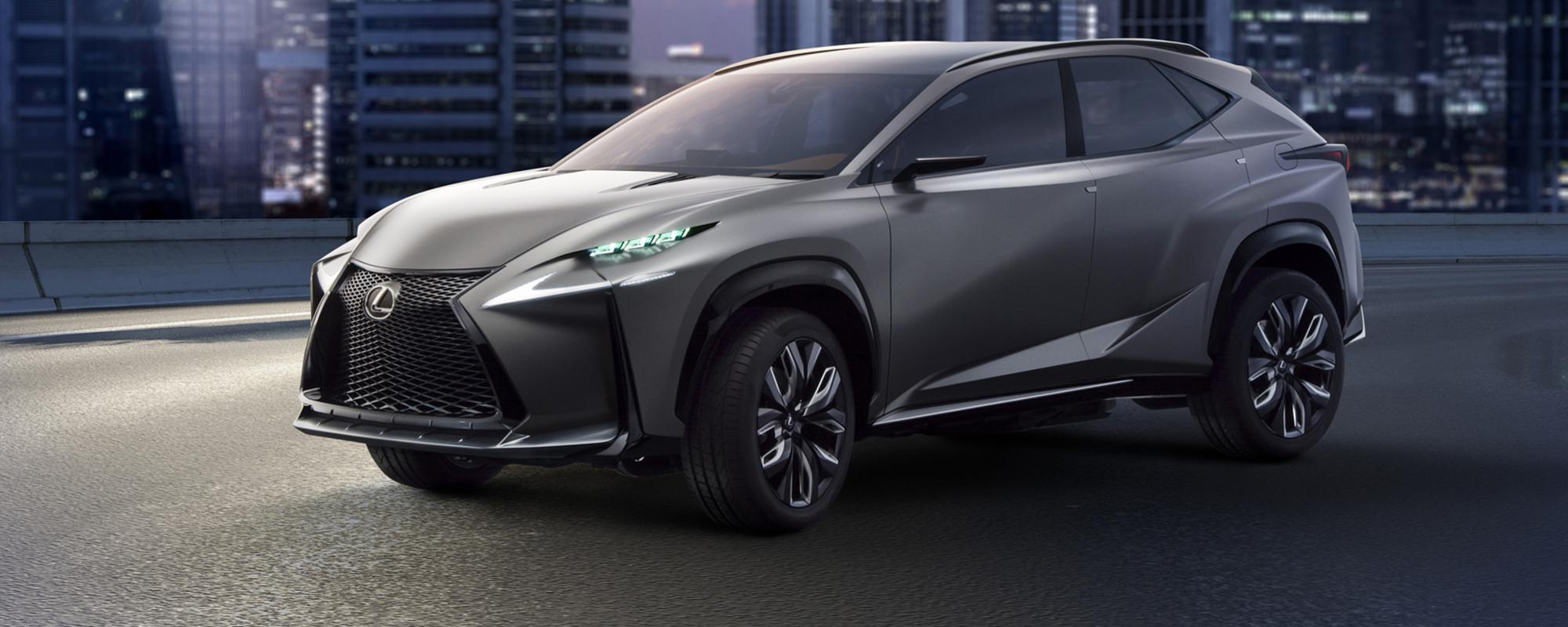 Lexus presenteert eerste turbo benzinemotor in LF-NX