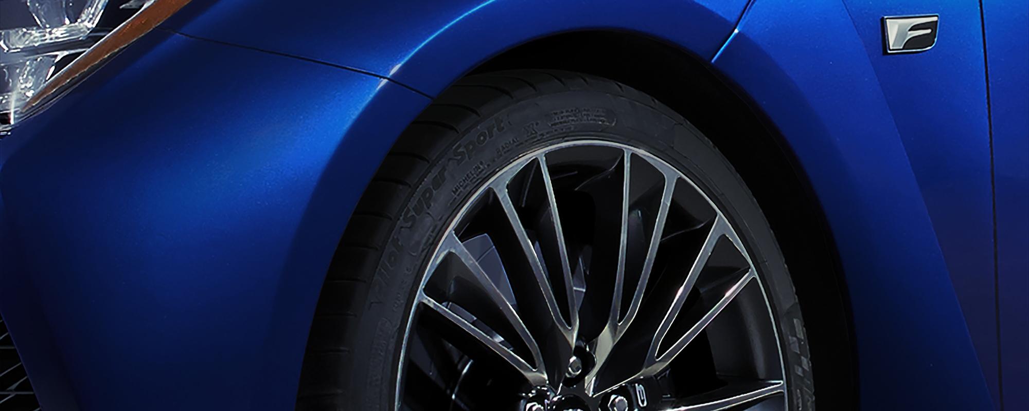 Lexus verrast met volledig nieuwe 'F' op Detroit