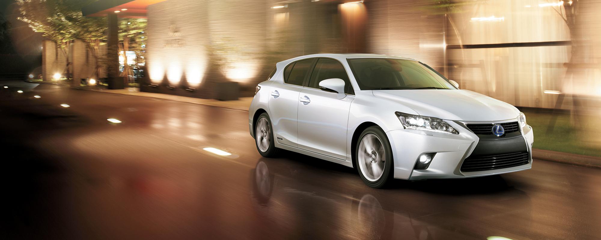 Lexus' nieuwe CT 200h: het beste verbeterd