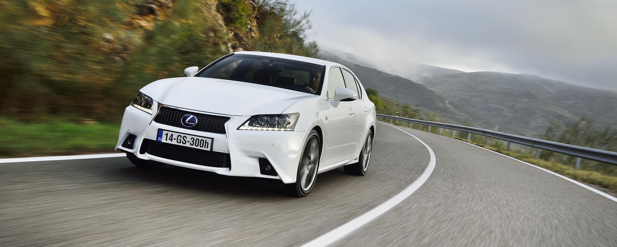 Lexus GS 300h: aanval recht in het premium segment