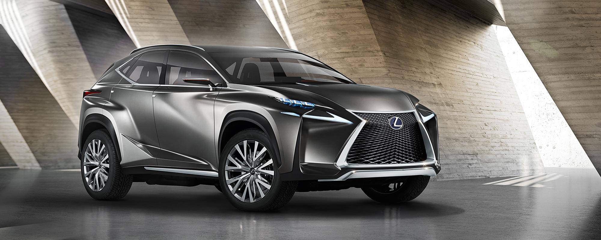 LF-NX Crossover, Lexus' wereldpremière concept car
