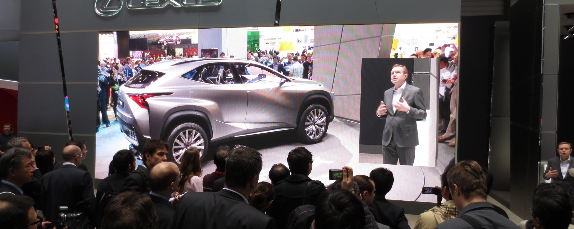 Lexus kondigt onthulling Lexus NX aan