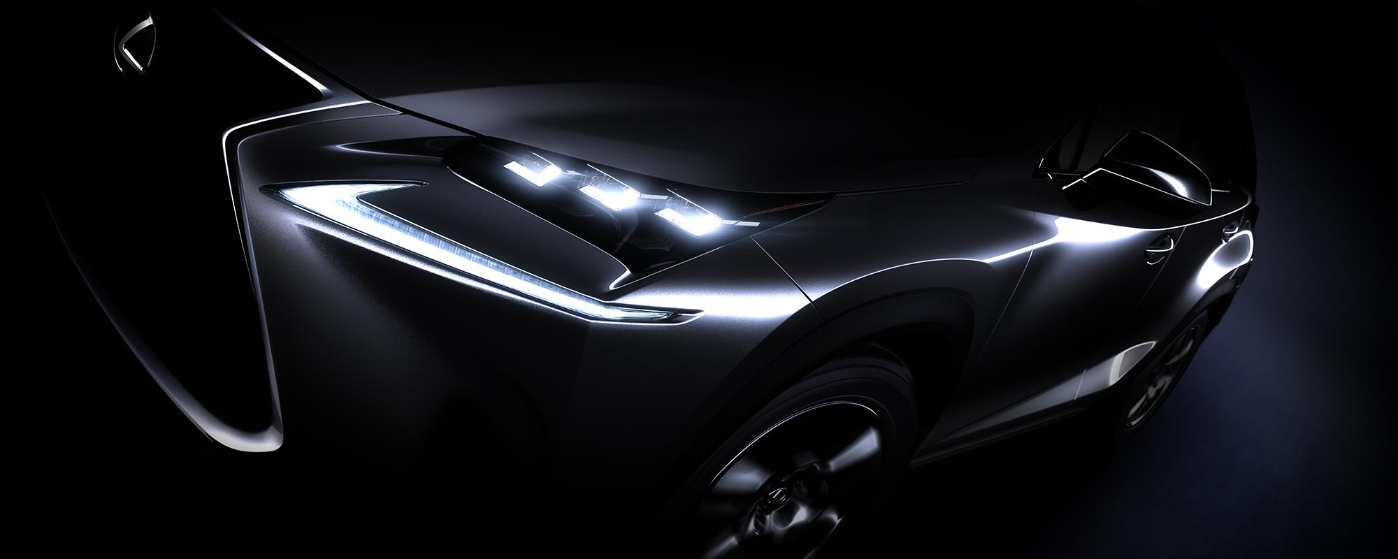 Eerste glimp van veelbesproken nieuwe Lexus NX