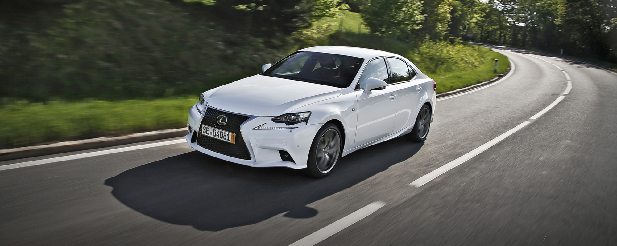 Lexus IS 300h 'Clean Road Car of the Year 2014'