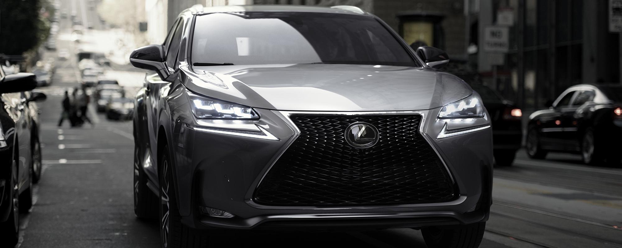 Lexus maakt prijzen bekend van krachtig vormgegeven NX 300h