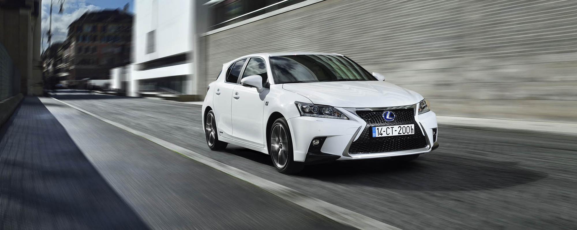 Lexus domineert in ANWB Top 10 Zuinige auto's