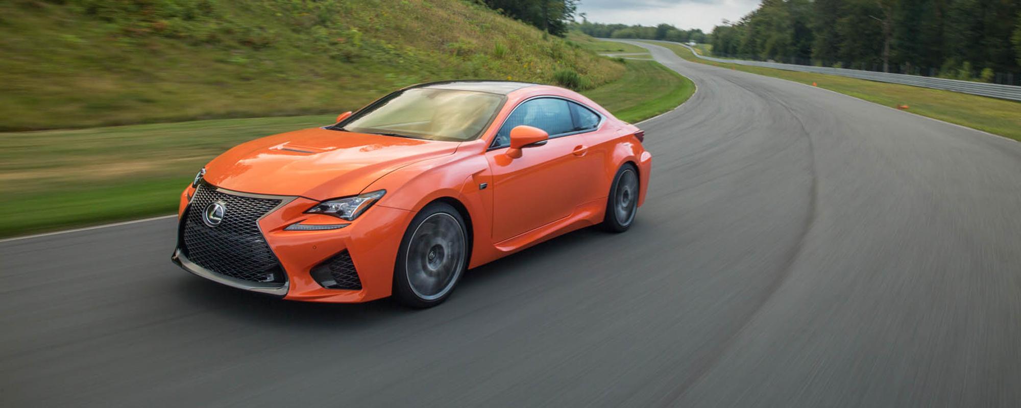 Lexus RC F: hoogwaardige techniek en potente prestaties