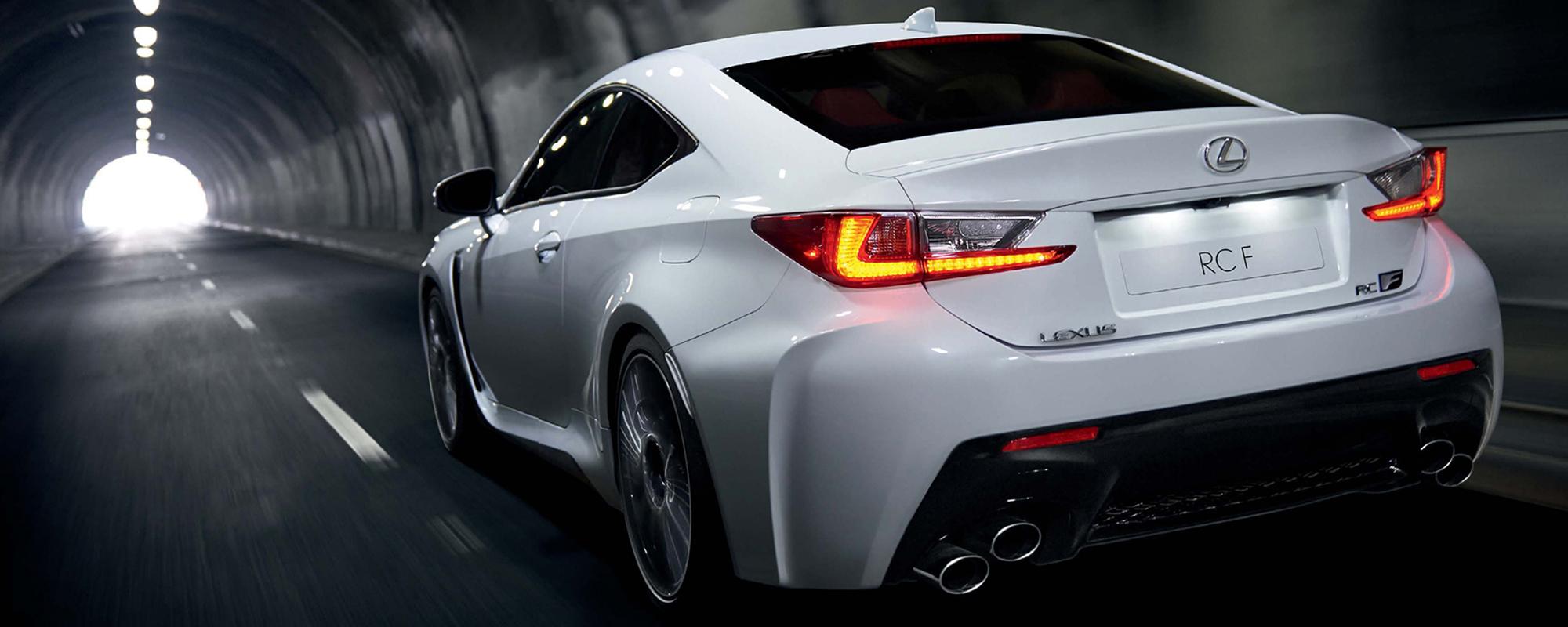 Lexus RC F, de nieuwe icoon geprijsd