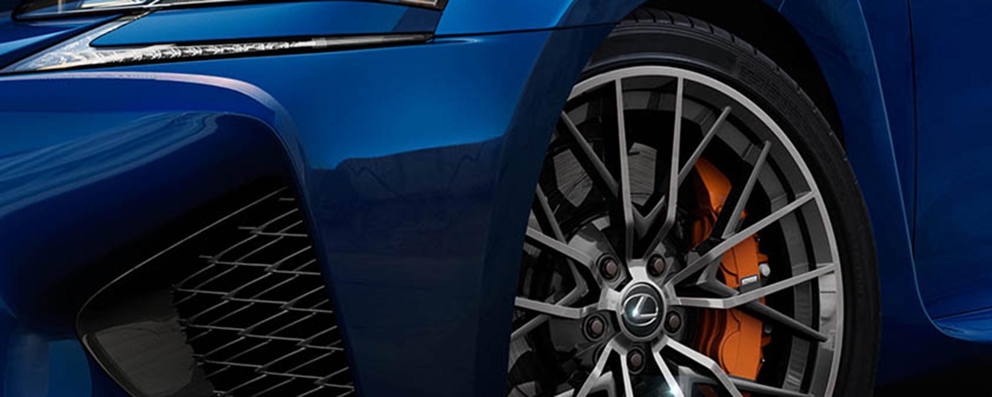 Weer een nieuwe high performance 'F' van Lexus