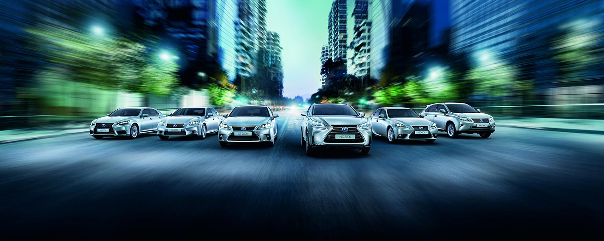 Nieuwe Lexus 25th Edition rijden voor een vast maandbedrag met Lexus Private Lease