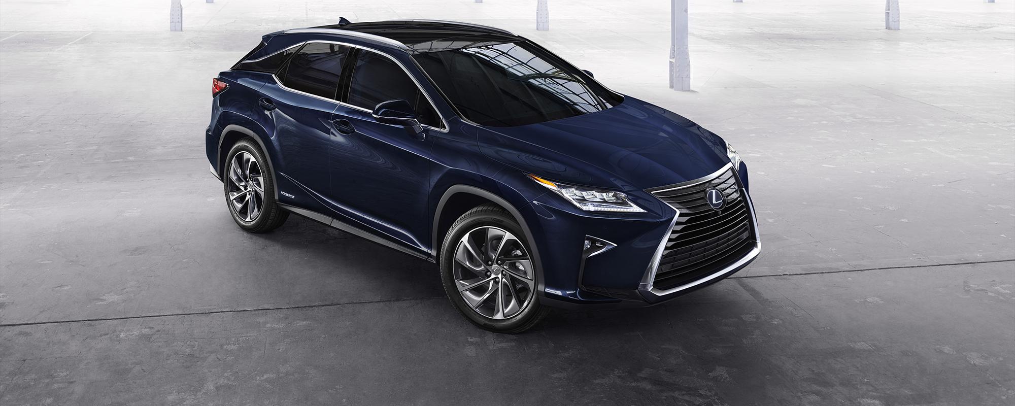 Nieuwe Lexus RX onthuld in New York