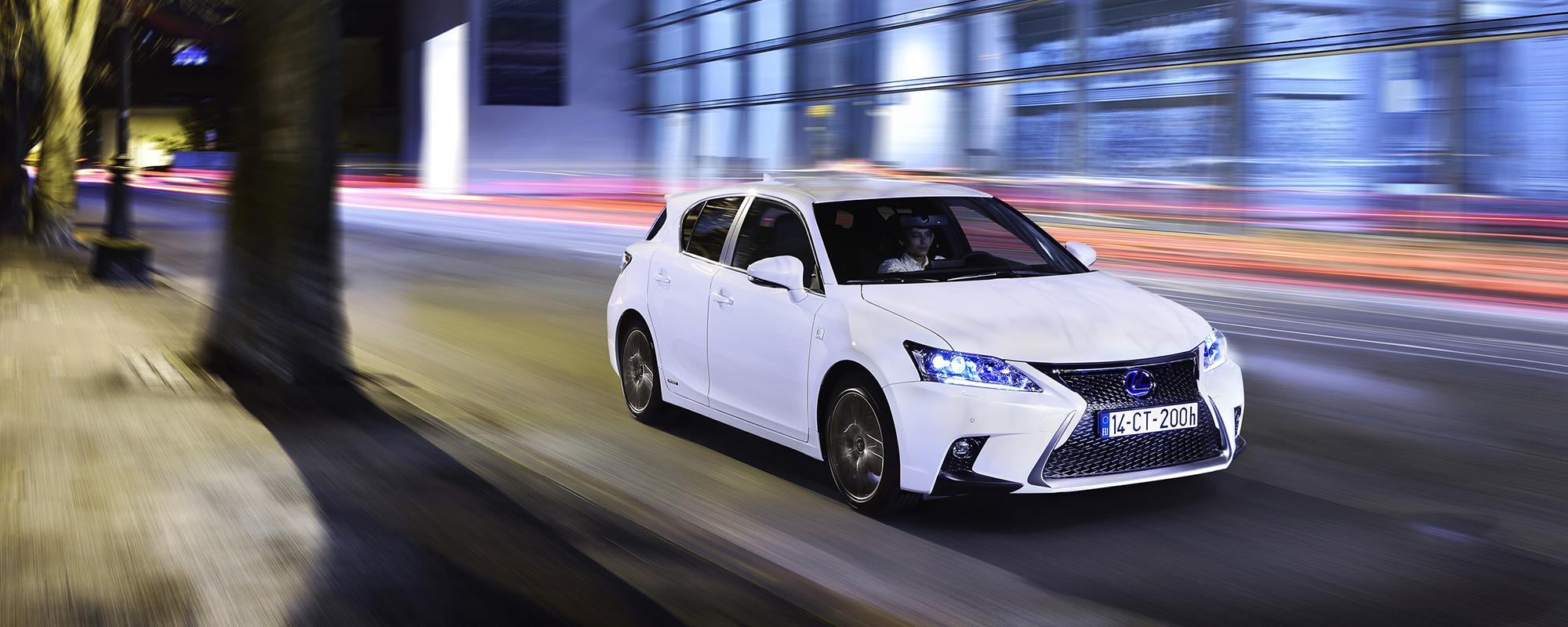 Lexus CT 200h gekozen tot milieuvriendelijkste auto