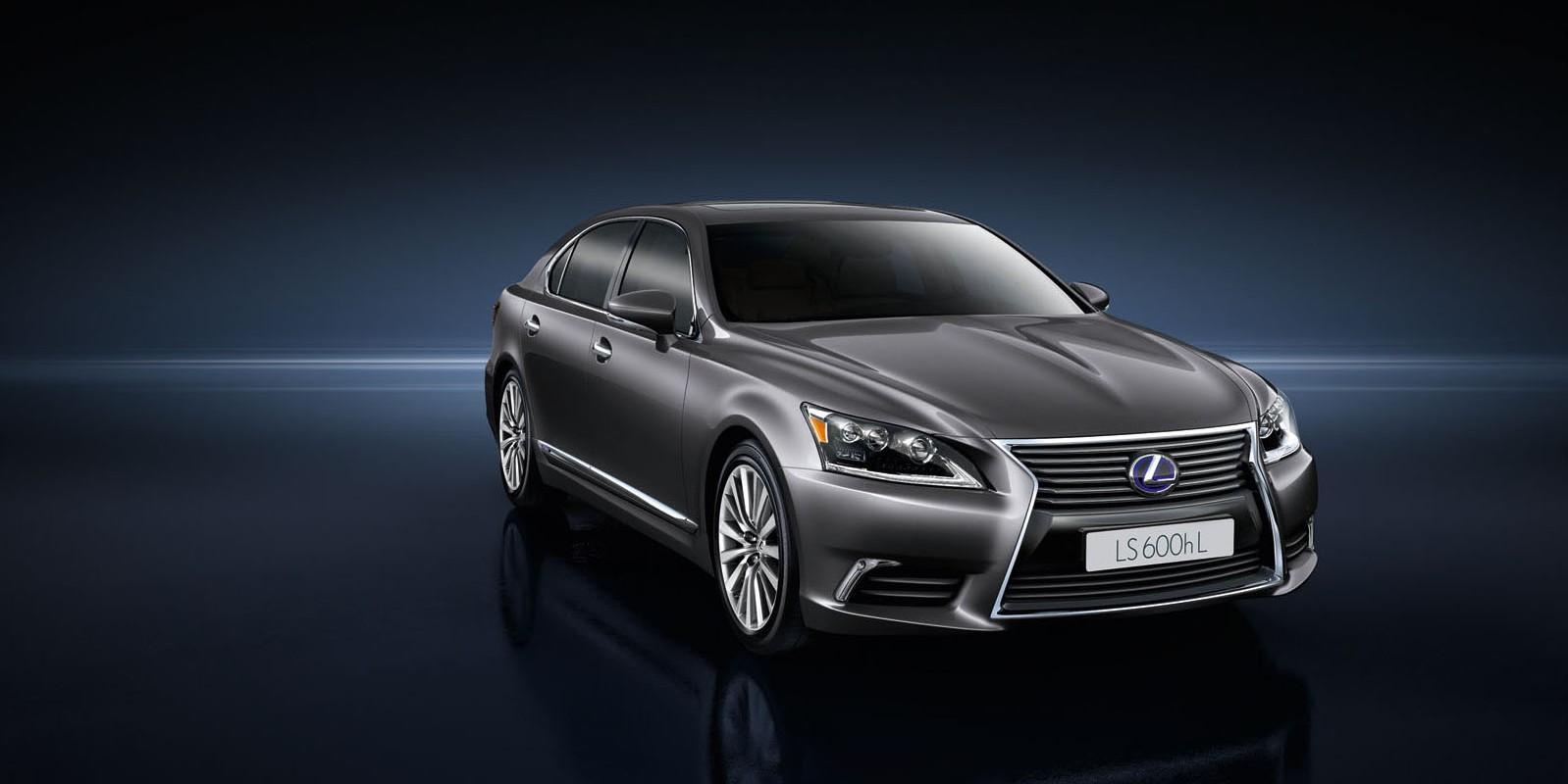 Lexus presenteert nieuwe LS 600h Hybrid