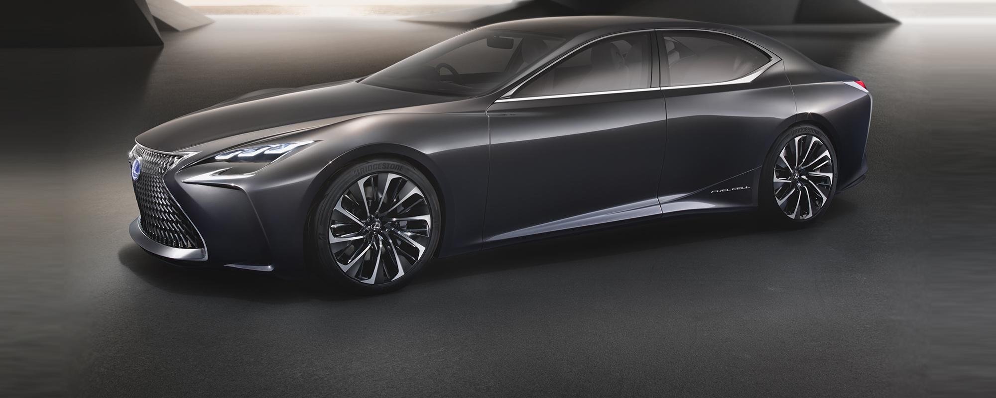 Lexus neemt het voortouw met visionaire premium Fuel Cell LF-FC 4-deurs Gran Turismo