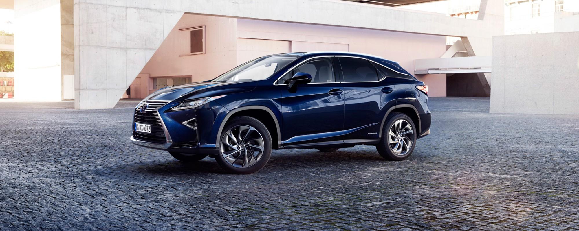 Nieuwe Lexus RX 450[h]: een onweerstaanbaar aanbod