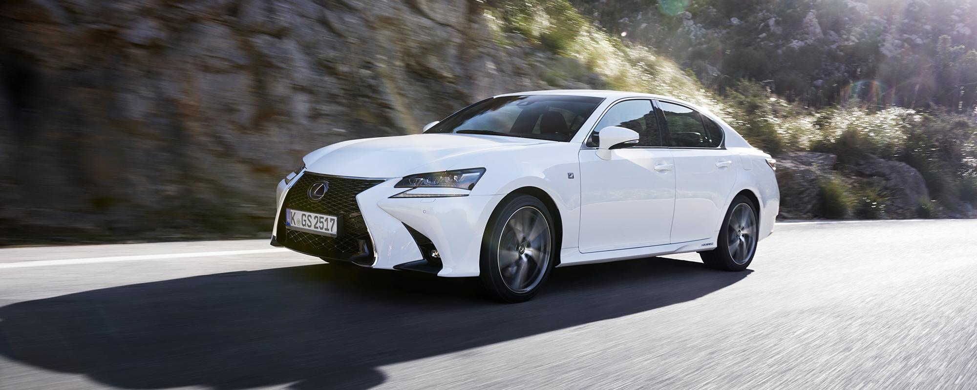 Nieuwe Lexus GS 300[h] en GS 450[h]: dé keuze op directieniveau