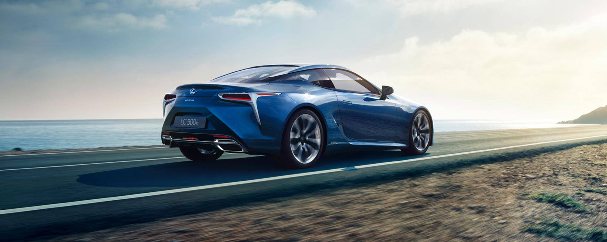 Bloedstollende Hybrid Gran Turismo; de Lexus LC 500[h]