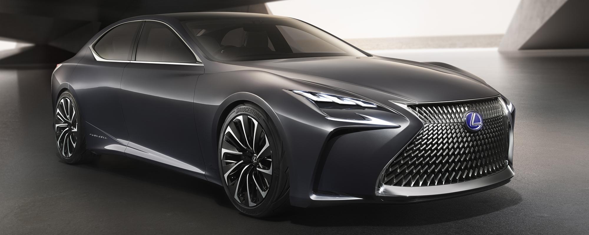 Lexus bepaalt nu al de toekomst van de high end performance limousine