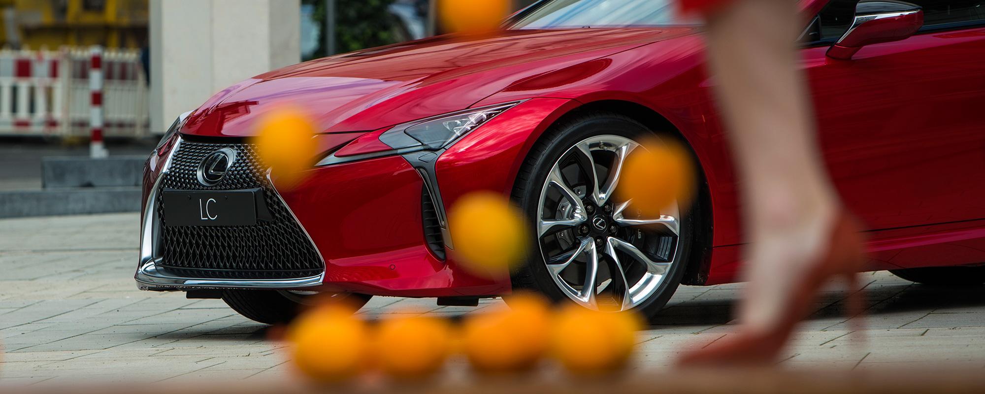 Louwman & Parqui kiest met Lexus voor Brand New Telly
