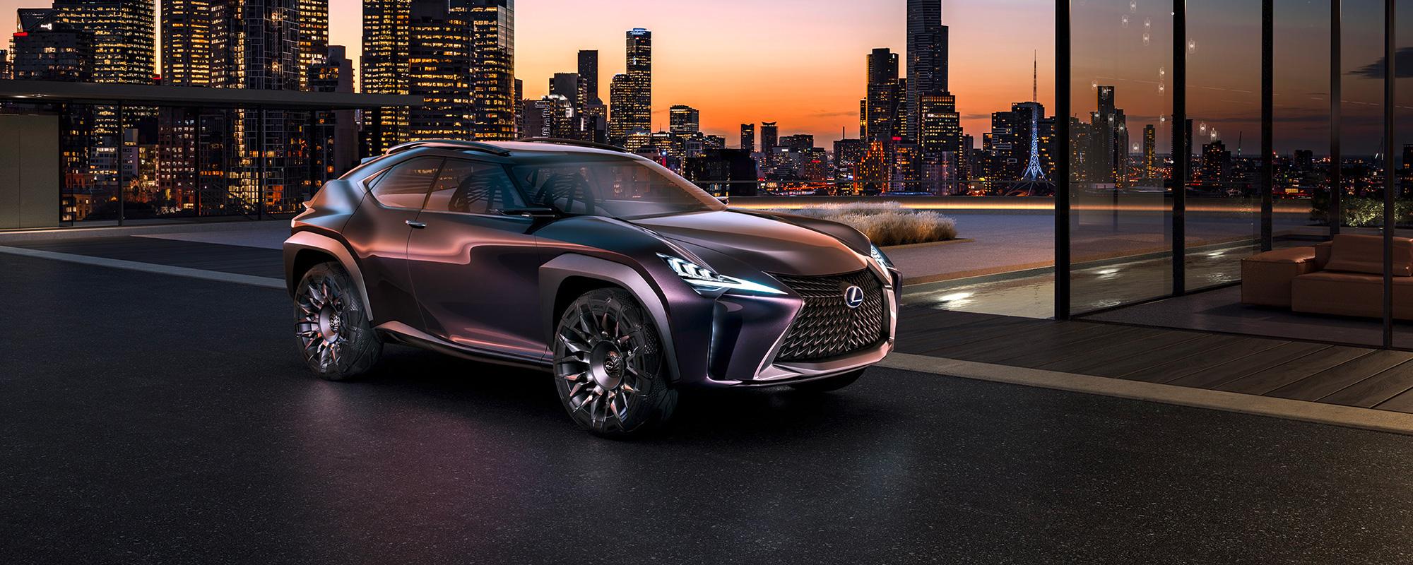 Lexus pakt uit op Paris Motor Show 2016