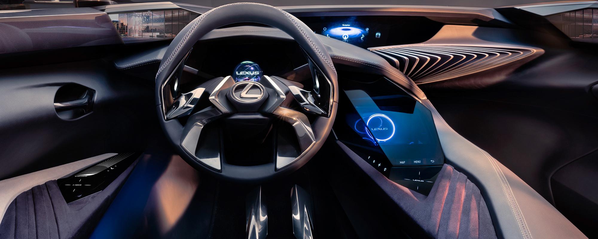 Lexus UX Concept biedt sensationele technologie met 3D-Human Machine Interface