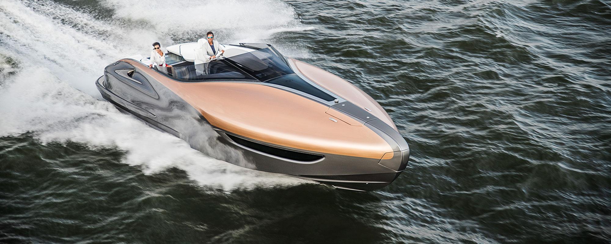 Lexus Sport Yacht – Lexus' premium performance yacht