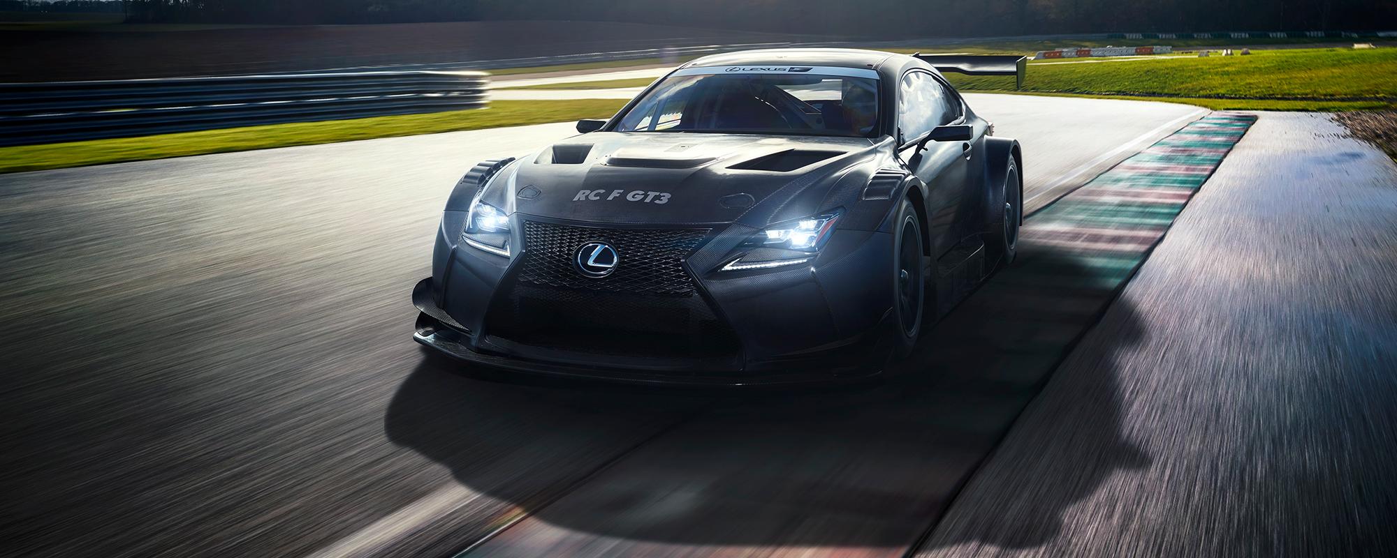Nieuwe Lexus RC F GT3 voorbode van intens raceseizoen