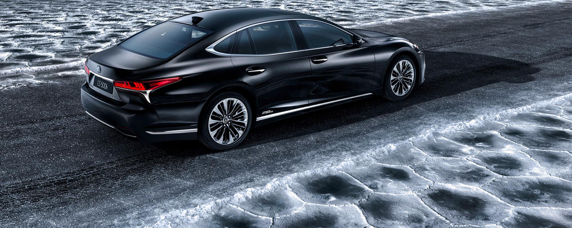 Lexus LS 500[h] luxury limousine wereldprimeur op Autosalon van Genève