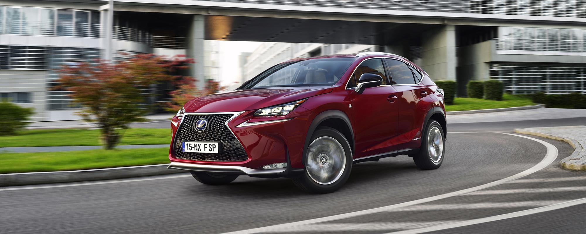 Lexus presenteert kosteloze luxe upgrade voor CT, IS en NX