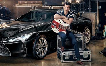 Lexus en Mark Ronson bundelen krachten in 'Make Your Mark': lanceringscampagne van nieuwe Lexus LC