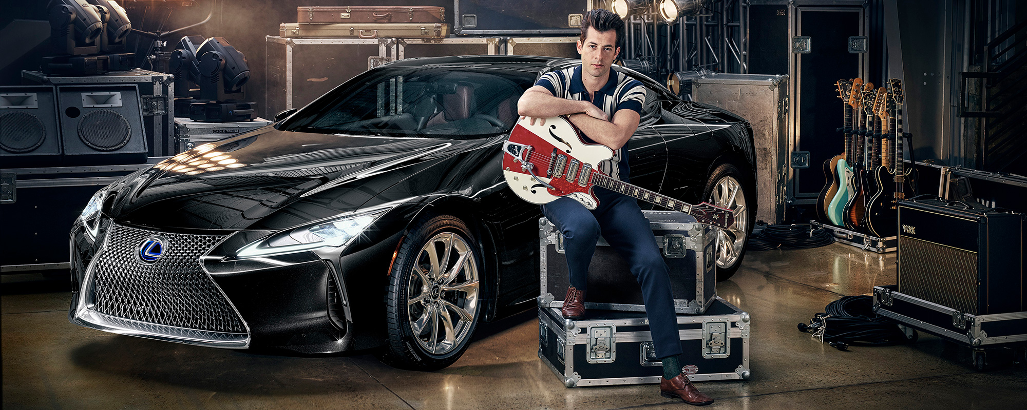 Lexus en Mark Ronson bundelen krachten in 'Make Your Mark': lanceringscampagne van nieuwe Lexus LC