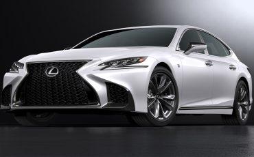 Craftsmanship met vleugje sportiviteit: de nieuwe Lexus LS 500 F SPORT