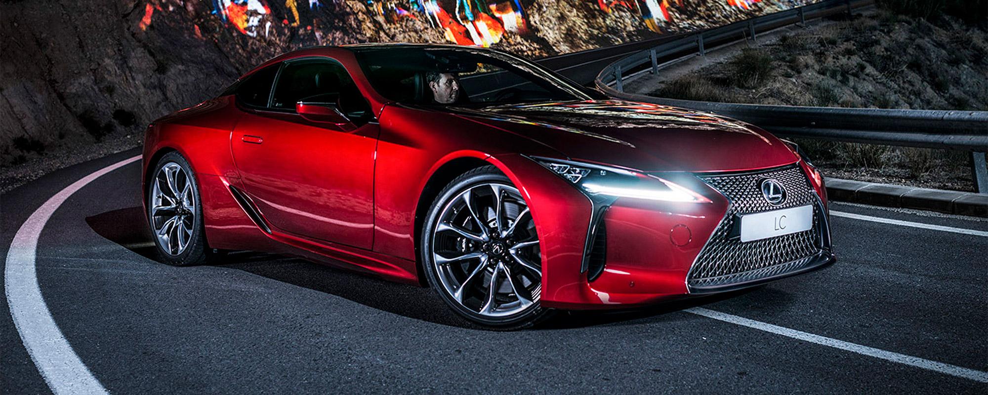 Lexus geeft prijzen sensationeel gelijnde coupé LC vrij