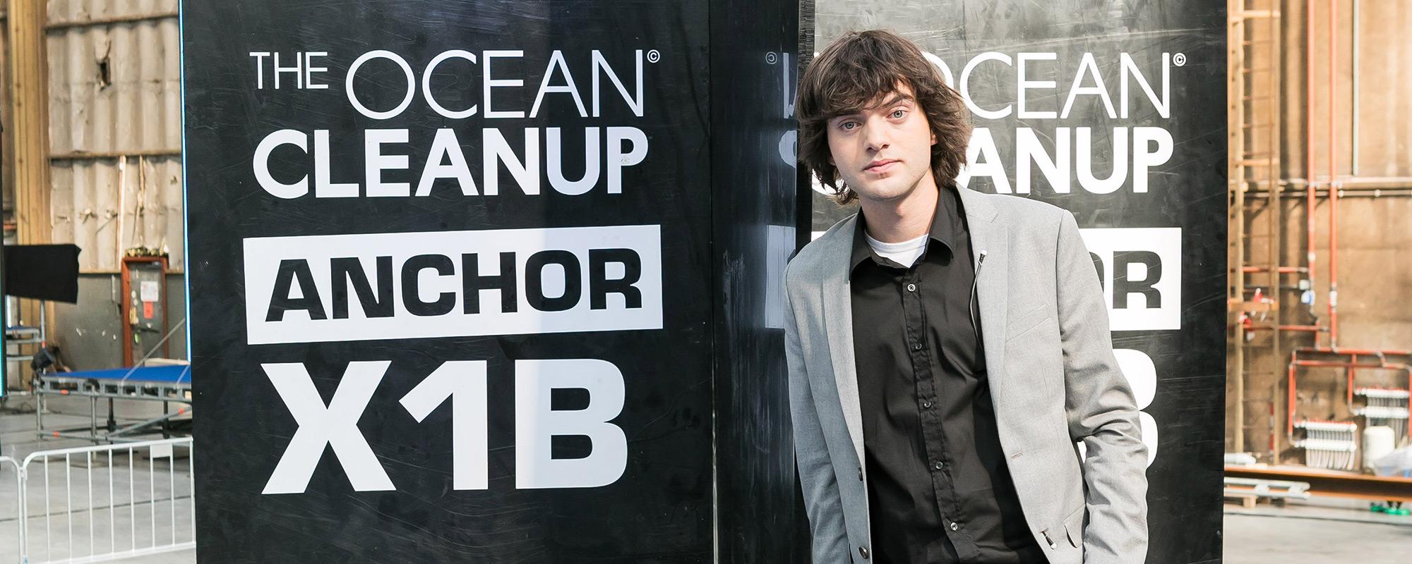 Lexus reikt 'Beste Start-up'-creatieprijs uit aan The Ocean Cleanup