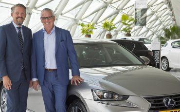 Lexus IS 300[h]: groene zuinigheidsprimeur voor Hertz Autoverhuur