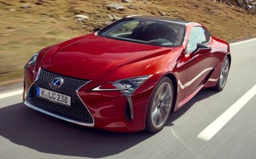 Lexus LC: hightech premium coupé met supercar DNA