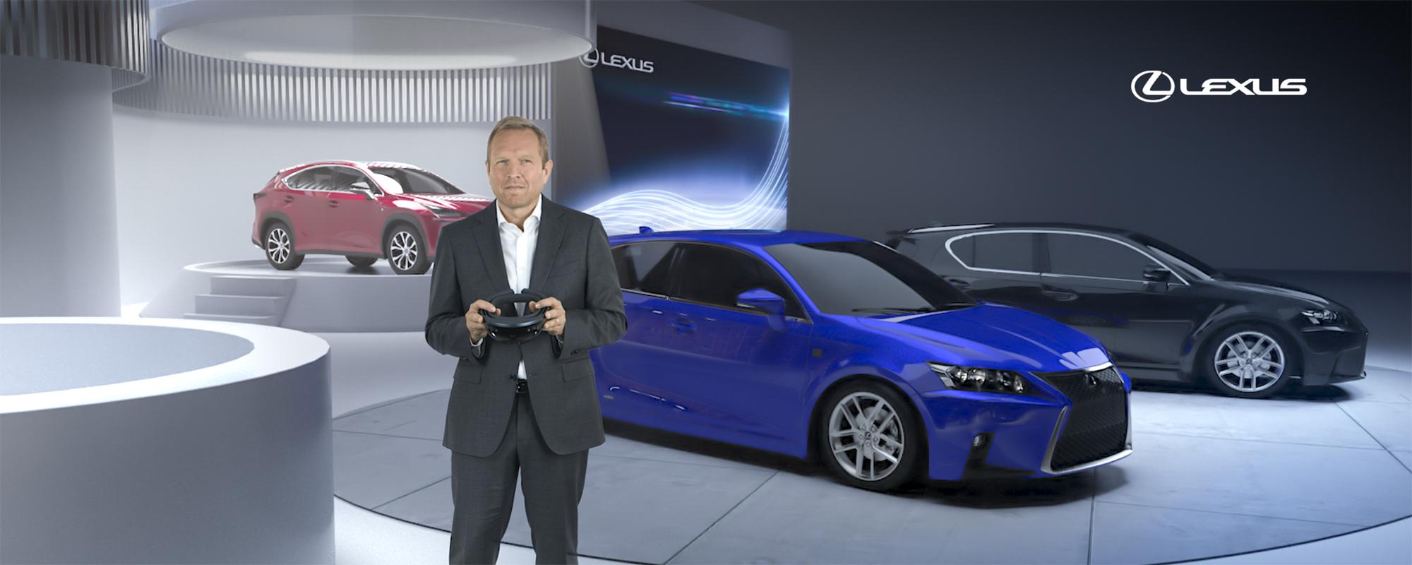 Lexus persconferentie on demand op IAA Frankfurt Motor Show