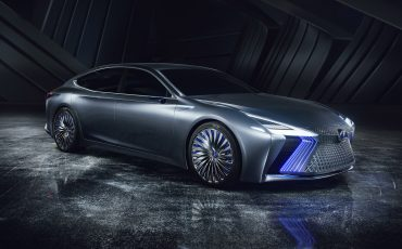 Lexus LS+ Concept voorbode autonoom rijdende Lexus