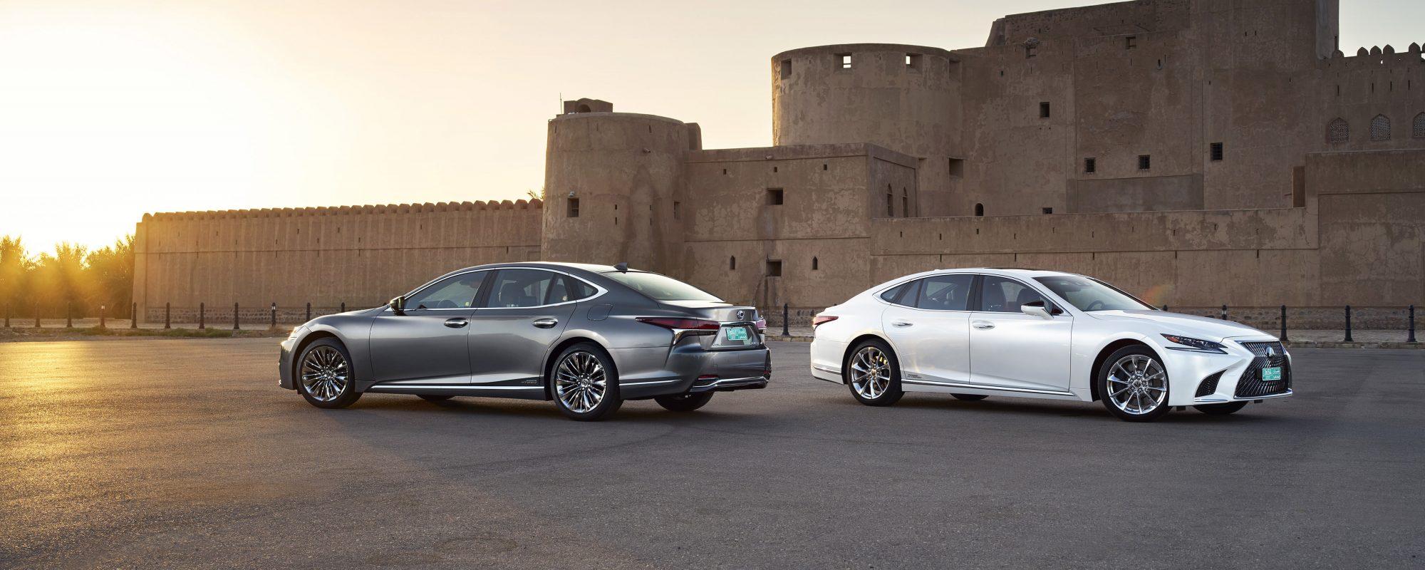 Nieuwe Lexus LS 500[h]: vijfde generatie luxury limousine verlegt grenzen