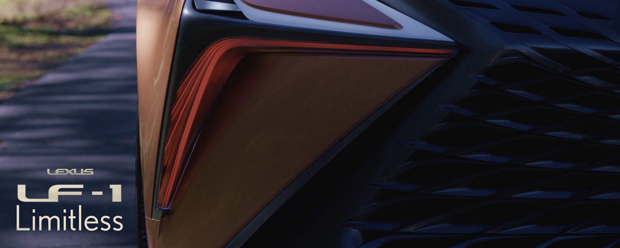 Lexus LF-1 Limitless klaar voor definitieve onthulling