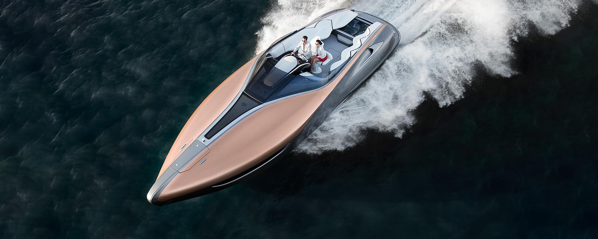 Lexus Sport Yacht Concept wint award en Lexus kondigt verkoopplannen nieuwe, grotere 'luxury yacht' aan